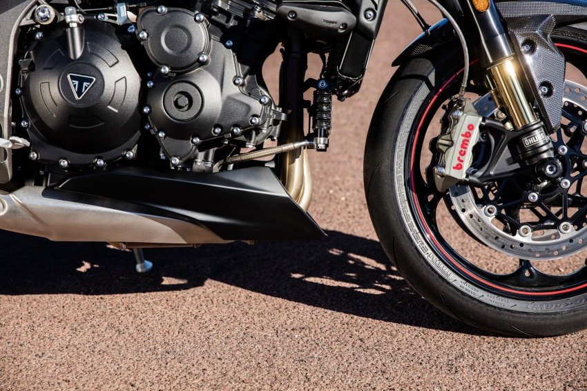 Triumph Speed Triple – kuasa ditingkat, lebih canggih Image #775700