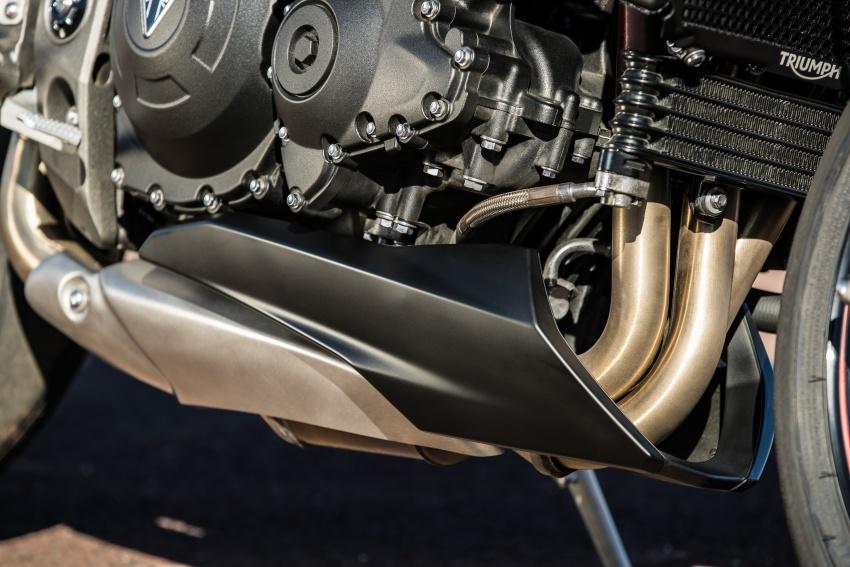 Triumph Speed Triple – kuasa ditingkat, lebih canggih Image #775701