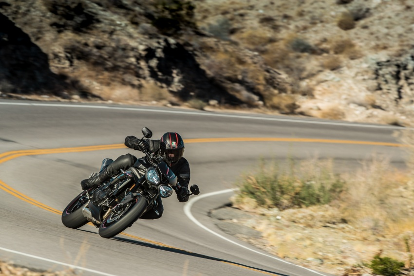 Triumph Speed Triple – kuasa ditingkat, lebih canggih Image #775665