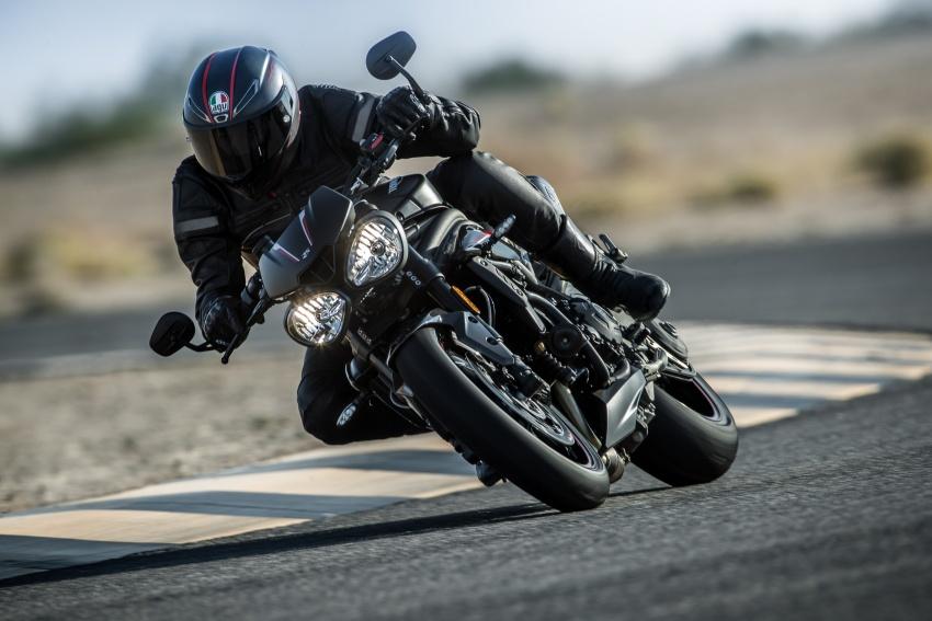 Triumph Speed Triple – kuasa ditingkat, lebih canggih Image #775669