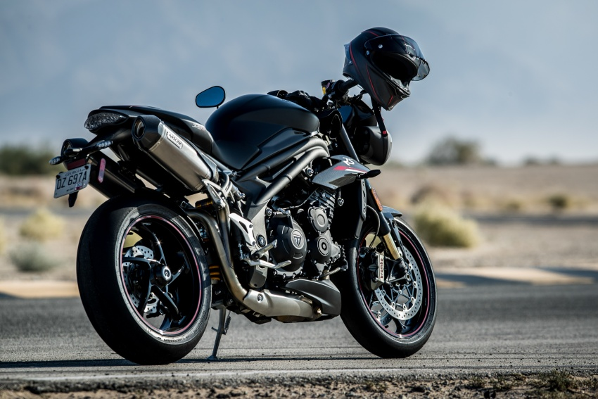 Triumph Speed Triple – kuasa ditingkat, lebih canggih Image #775671