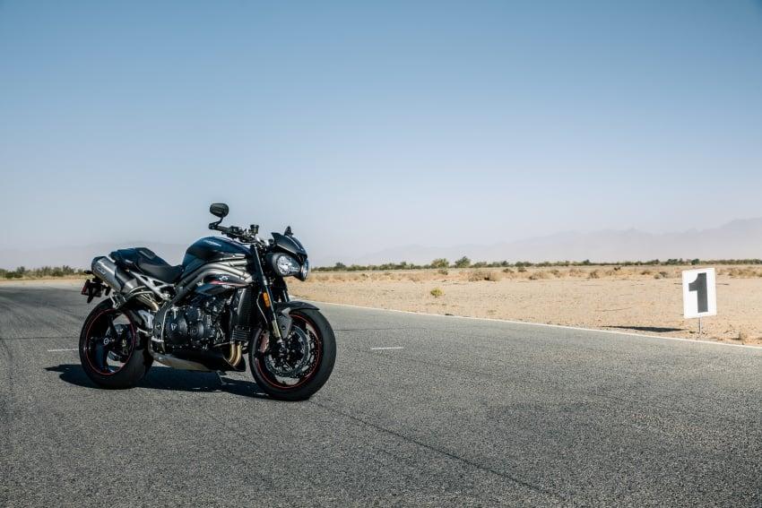 Triumph Speed Triple – kuasa ditingkat, lebih canggih Image #775675