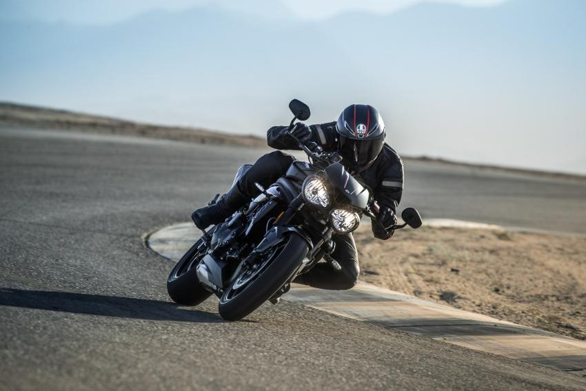 Triumph Speed Triple – kuasa ditingkat, lebih canggih Image #775677