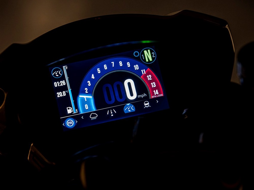 Triumph Speed Triple – kuasa ditingkat, lebih canggih Image #775680