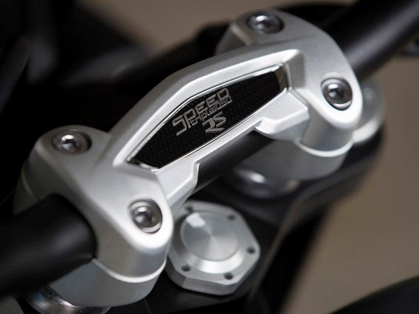 Triumph Speed Triple – kuasa ditingkat, lebih canggih Image #775686