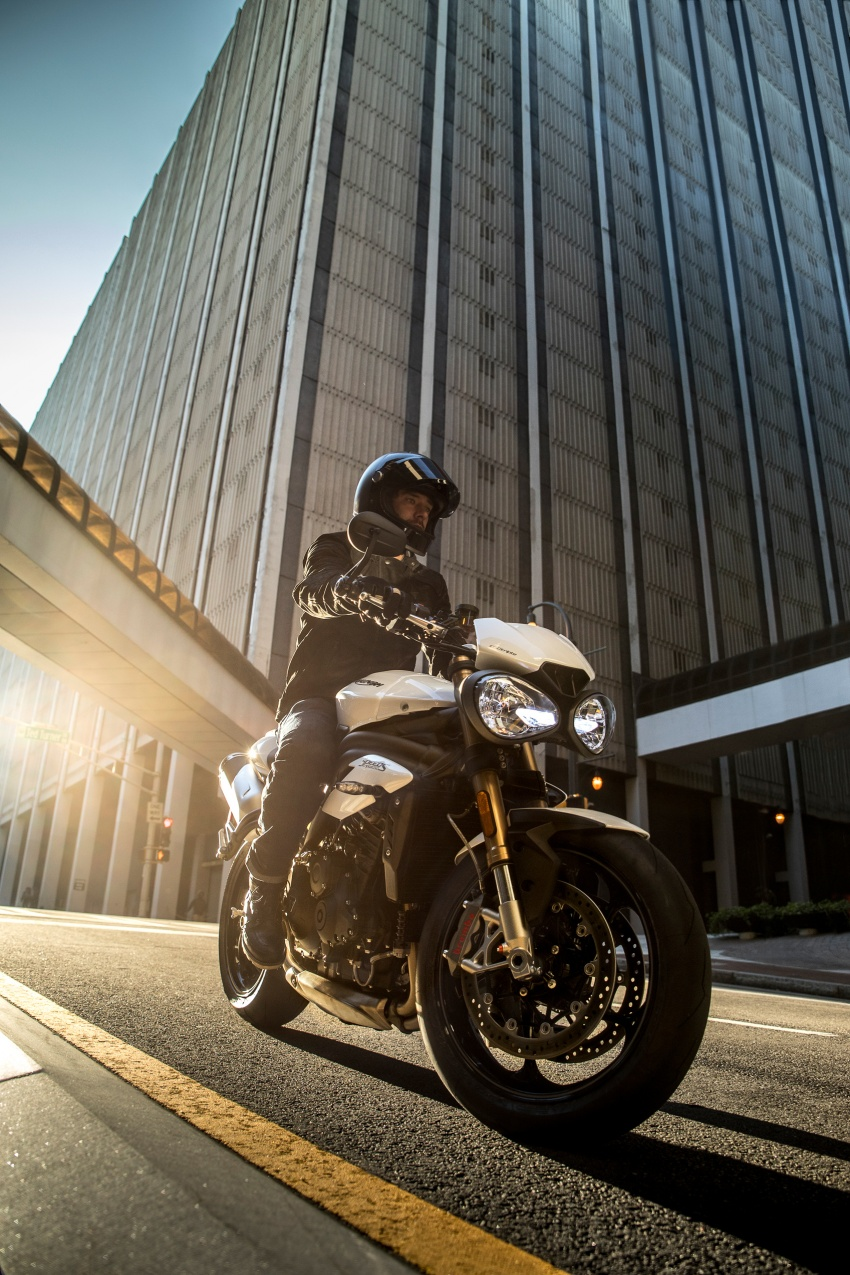 Triumph Speed Triple – kuasa ditingkat, lebih canggih Image #775608