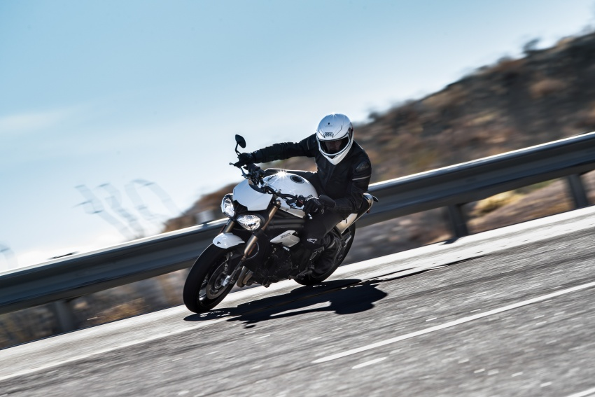 Triumph Speed Triple – kuasa ditingkat, lebih canggih Image #775614
