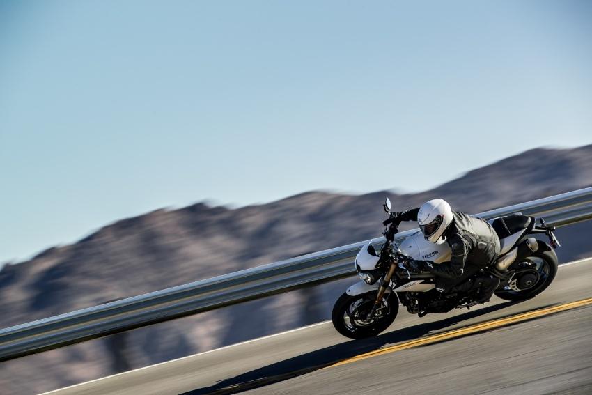 Triumph Speed Triple – kuasa ditingkat, lebih canggih Image #775615