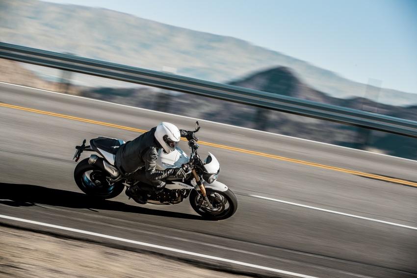 Triumph Speed Triple – kuasa ditingkat, lebih canggih Image #775617