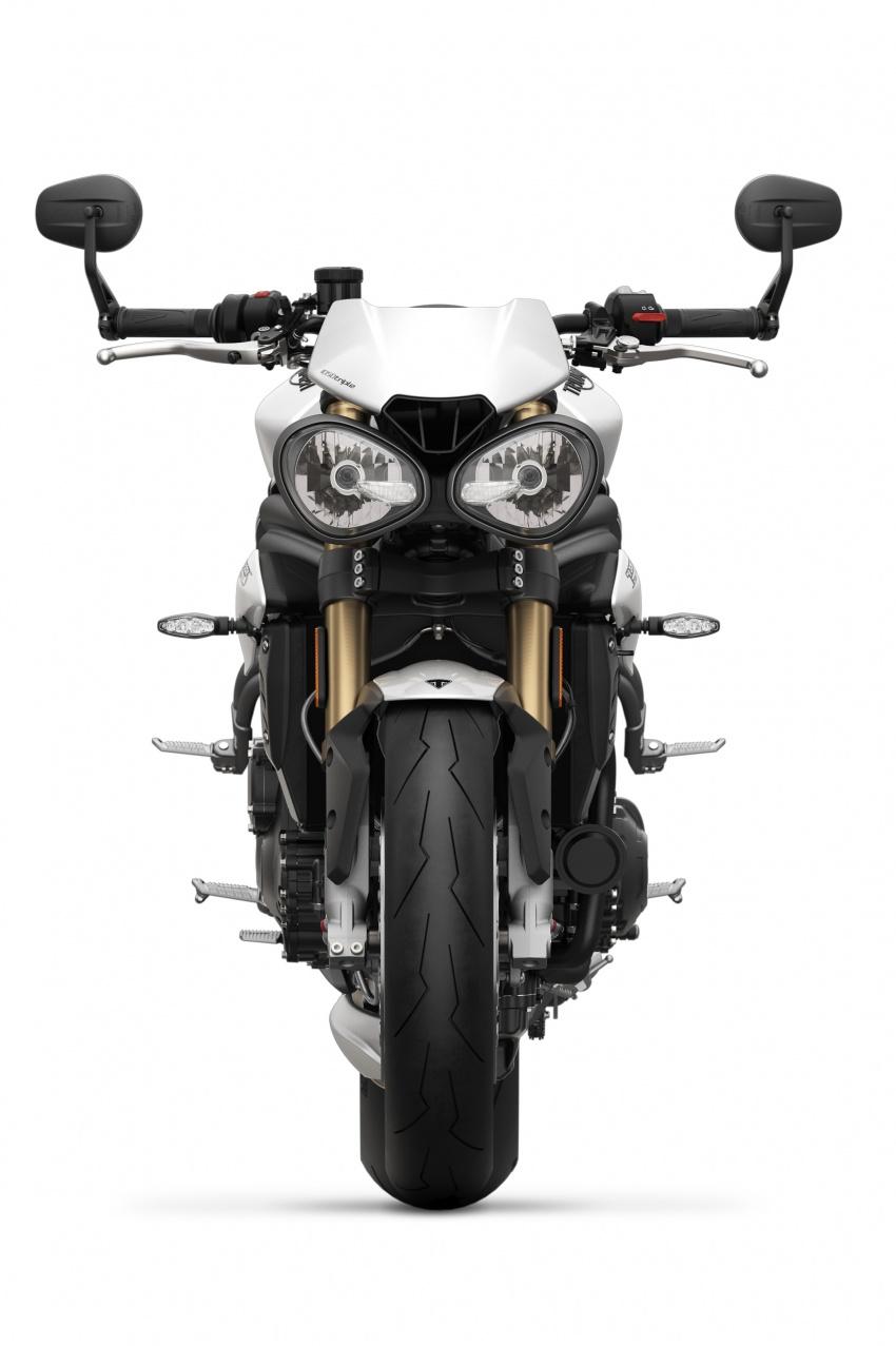 Triumph Speed Triple – kuasa ditingkat, lebih canggih Image #775619