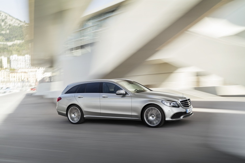 W205 Mercedes-Benz C-Class facelift first details – new electronics, safety systems from S-Class Image #778817