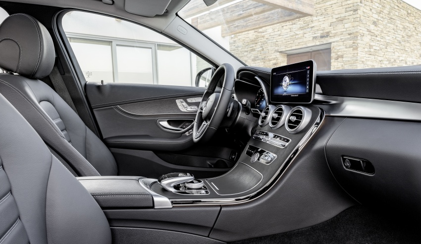 W205 Mercedes-Benz C-Class facelift first details – new electronics, safety systems from S-Class Image #778831
