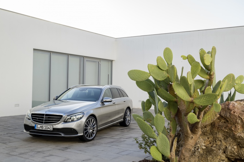 W205 Mercedes-Benz C-Class facelift first details – new electronics, safety systems from S-Class Image #778832