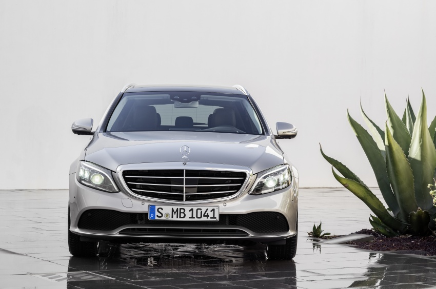 W205 Mercedes-Benz C-Class facelift first details – new electronics, safety systems from S-Class Image #778835