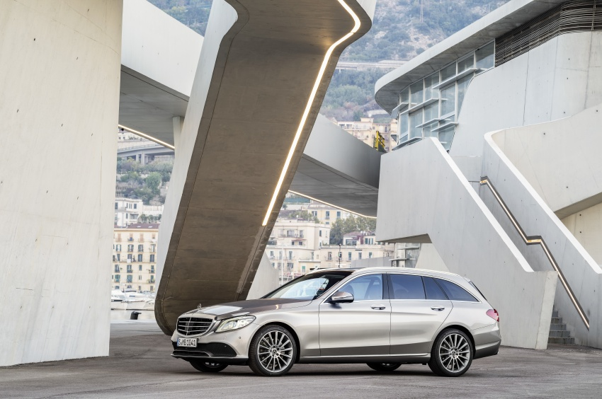 W205 Mercedes-Benz C-Class facelift first details – new electronics, safety systems from S-Class Image #778838