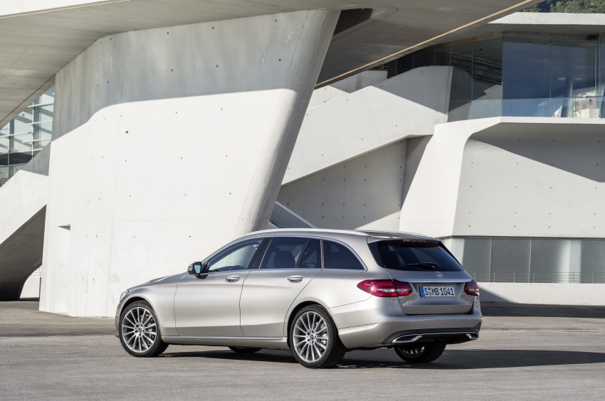 W205 Mercedes-Benz C-Class facelift first details – new electronics, safety systems from S-Class Image #778839