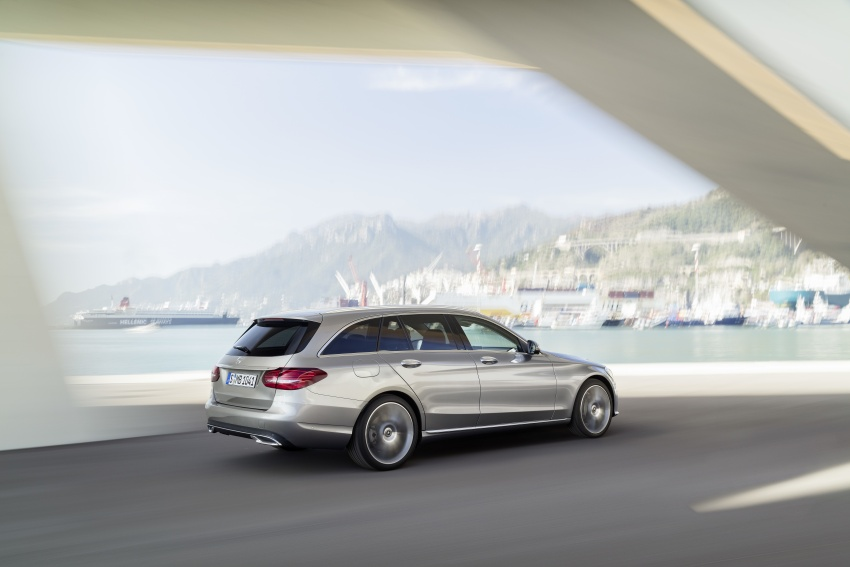 W205 Mercedes-Benz C-Class facelift first details – new electronics, safety systems from S-Class Image #778823