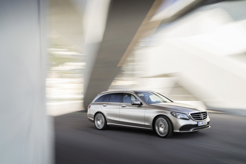 W205 Mercedes-Benz C-Class facelift first details – new electronics, safety systems from S-Class Image #778824