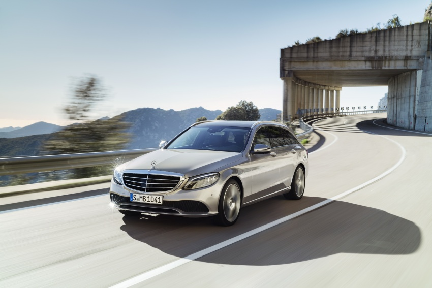 W205 Mercedes-Benz C-Class facelift first details – new electronics, safety systems from S-Class Image #778826