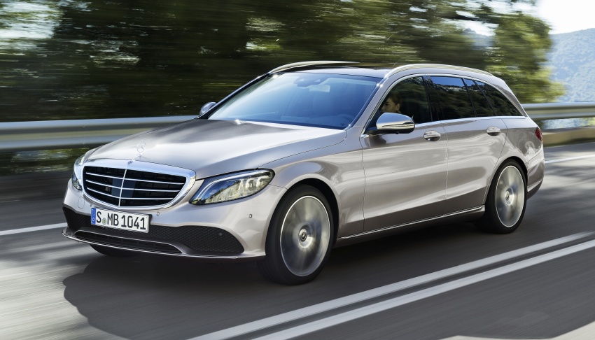 W205 Mercedes-Benz C-Class facelift first details – new electronics, safety systems from S-Class Image #778827