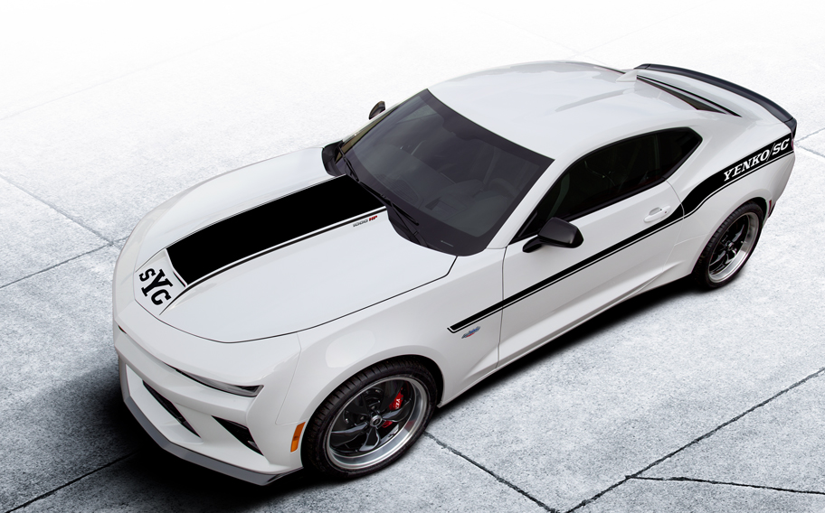 2018 chevrolet camaro gets 1 000 hp yenko makeover. Black Bedroom Furniture Sets. Home Design Ideas