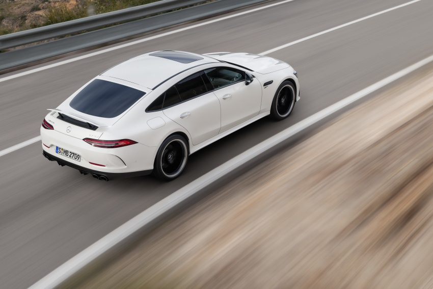 Mercedes-AMG GT 4-Door Coupe officially debuts in Geneva – up to 630 hp, 0-100 km/h in 3.2 seconds Image #787189