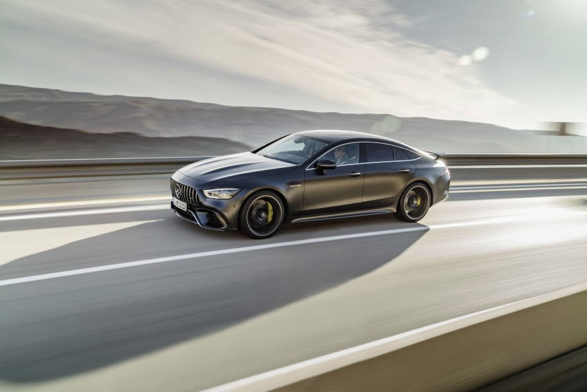 Mercedes-AMG GT 4-Door Coupe officially debuts in Geneva – up to 630 hp, 0-100 km/h in 3.2 seconds Image #787214