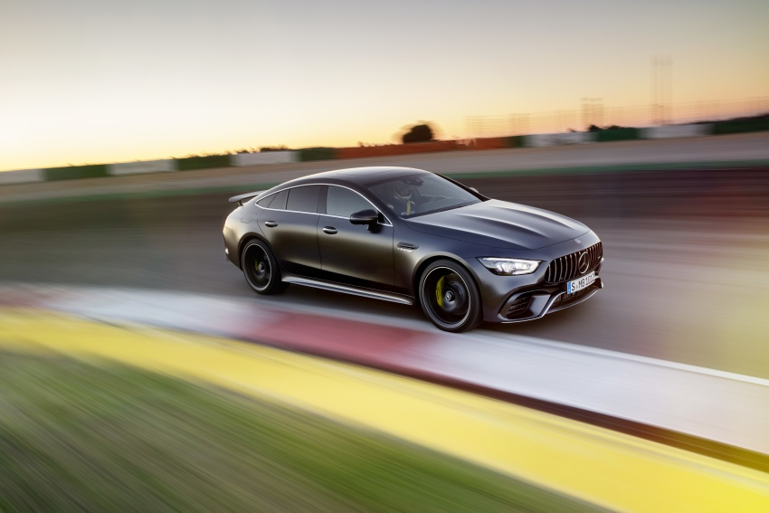Mercedes-AMG GT 4-Door Coupe officially debuts in Geneva – up to 630 hp, 0-100 km/h in 3.2 seconds Image #787220