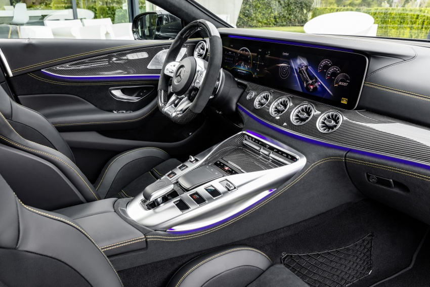 Mercedes-AMG GT 4-Door Coupe officially debuts in Geneva – up to 630 hp, 0-100 km/h in 3.2 seconds Image #787224
