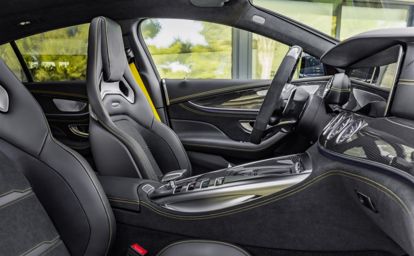 Mercedes-AMG GT 4-Door Coupe officially debuts in Geneva – up to 630 hp, 0-100 km/h in 3.2 seconds Image #787226