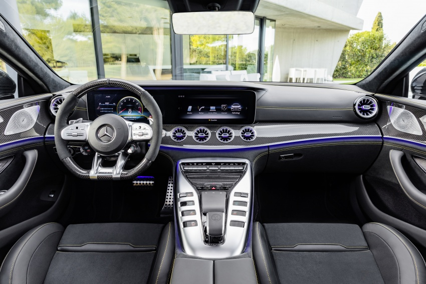 Mercedes-AMG GT 4-Door Coupe officially debuts in Geneva – up to 630 hp, 0-100 km/h in 3.2 seconds Image #787227