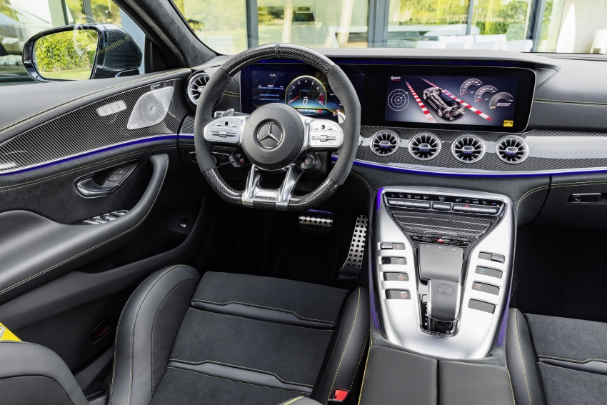 Mercedes-AMG GT 4-Door Coupe officially debuts in Geneva – up to 630 hp, 0-100 km/h in 3.2 seconds Image #787228