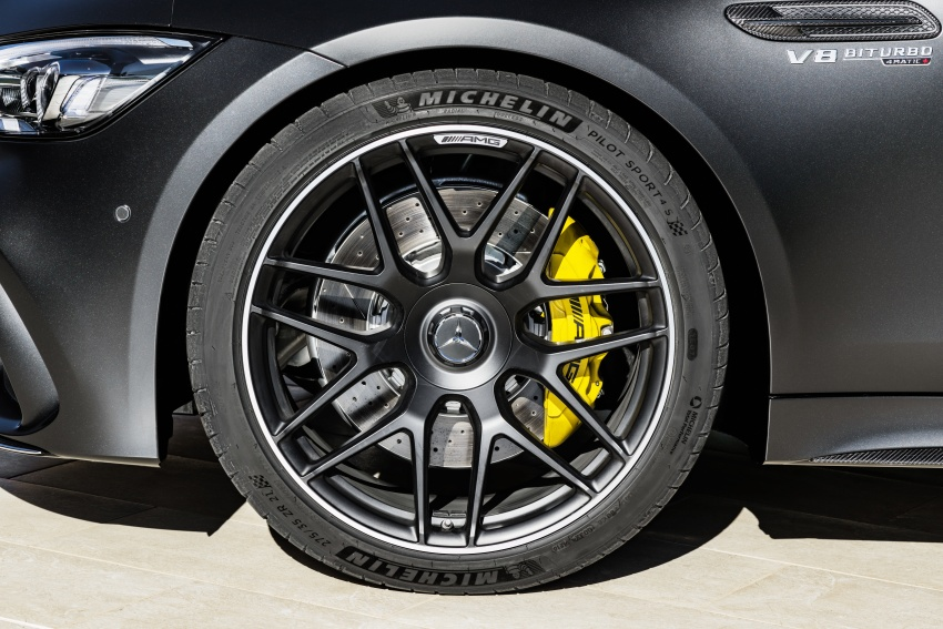 Mercedes-AMG GT 4-Door Coupe officially debuts in Geneva – up to 630 hp, 0-100 km/h in 3.2 seconds Image #787239