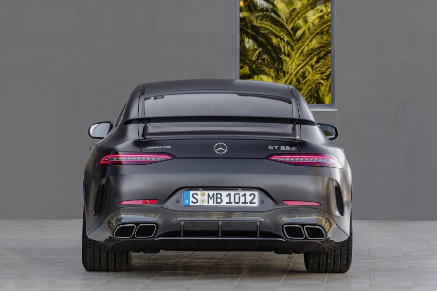 Mercedes-AMG GT 4-Door Coupe officially debuts in Geneva – up to 630 hp, 0-100 km/h in 3.2 seconds Image #787247