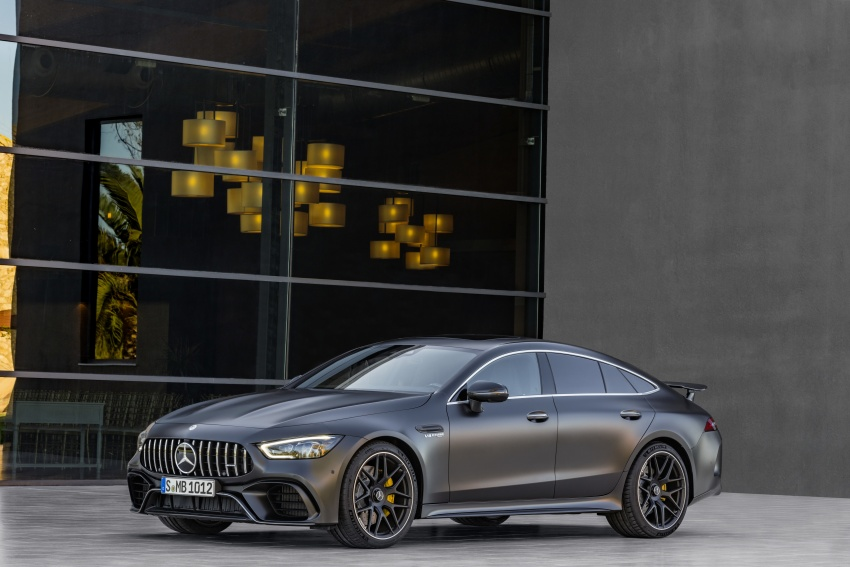 Mercedes-AMG GT 4-Door Coupe officially debuts in Geneva – up to 630 hp, 0-100 km/h in 3.2 seconds Image #787249