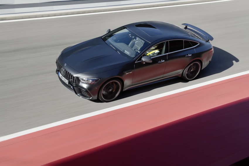 Mercedes-AMG GT 4-Door Coupe officially debuts in Geneva – up to 630 hp, 0-100 km/h in 3.2 seconds Image #787250