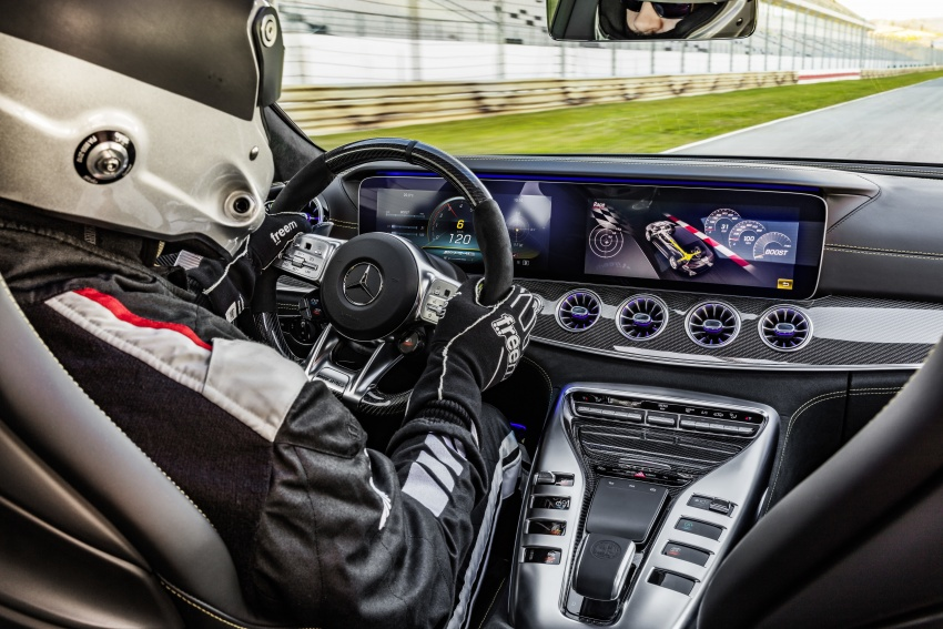 Mercedes-AMG GT 4-Door Coupe officially debuts in Geneva – up to 630 hp, 0-100 km/h in 3.2 seconds Image #787254