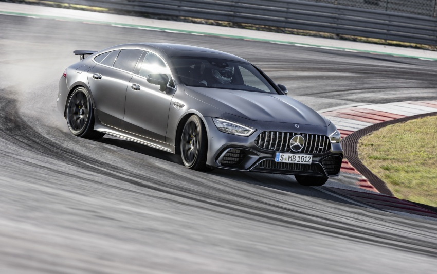 Mercedes-AMG GT 4-Door Coupe officially debuts in Geneva – up to 630 hp, 0-100 km/h in 3.2 seconds Image #787255
