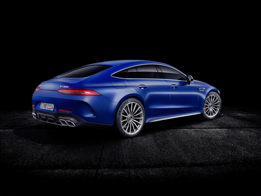 Mercedes-AMG GT 4-Door Coupe officially debuts in Geneva – up to 630 hp, 0-100 km/h in 3.2 seconds Image #787258