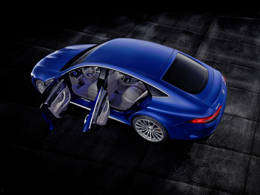Mercedes-AMG GT 4-Door Coupe officially debuts in Geneva – up to 630 hp, 0-100 km/h in 3.2 seconds Image #787263