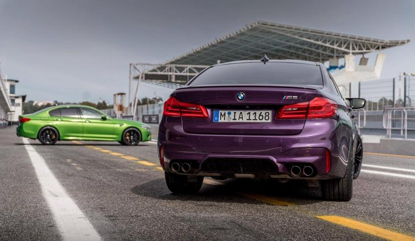 BMW Individual perkenal warna unik untuk F90 M5 Image #785770