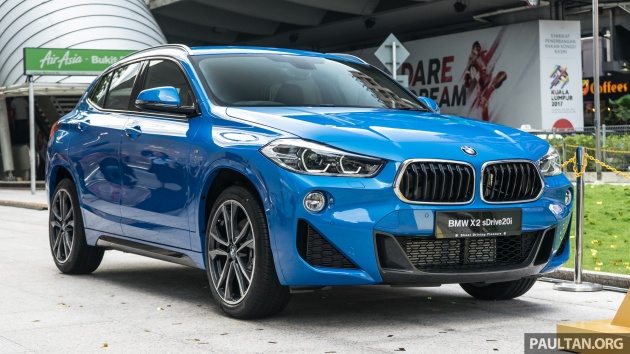 F39 Bmw X2 Launched In Malaysia Sdrive20i Rm321k