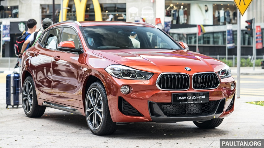 F39 BMW X2 launched in Malaysia – sDrive20i, RM321k Image #793813
