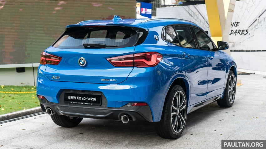 F39 BMW X2 launched in Malaysia – sDrive20i, RM321k Image #793799