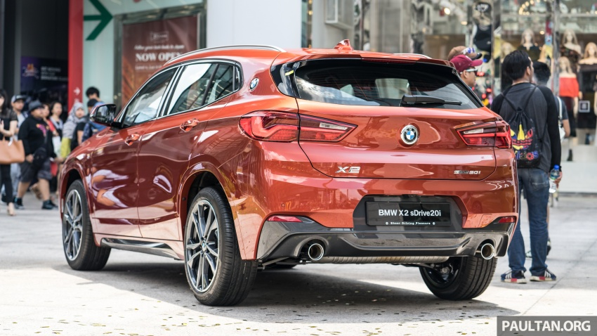 F39 BMW X2 launched in Malaysia – sDrive20i, RM321k Image #793819