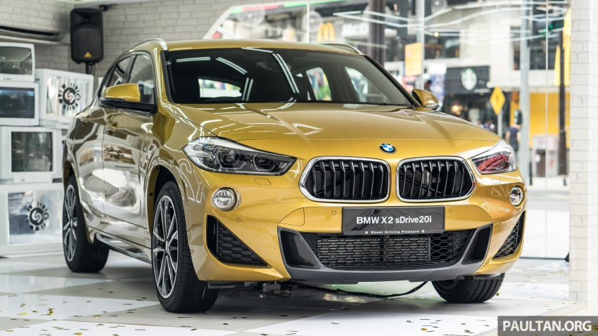 F39 BMW X2 launched in Malaysia – sDrive20i, RM321k Image #793823