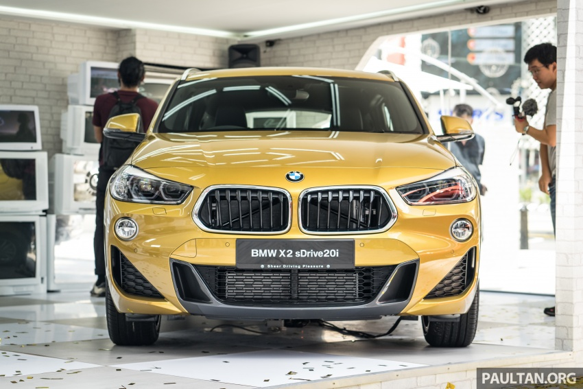 F39 BMW X2 launched in Malaysia – sDrive20i, RM321k Image #793824
