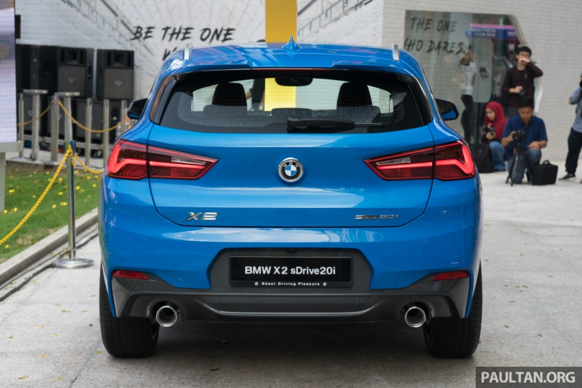 F39 BMW X2 launched in Malaysia – sDrive20i, RM321k Image #793800
