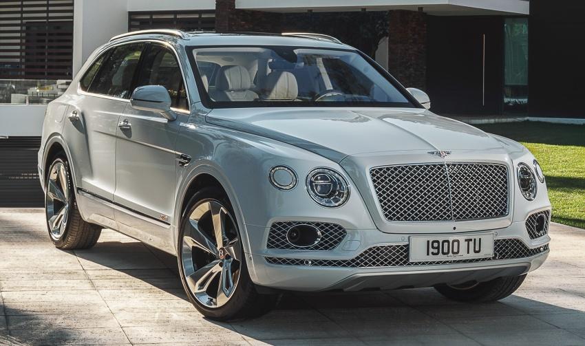 Bentley Bentayga Hybrid – new 3.0L V6, 50 km e-range Image #786371