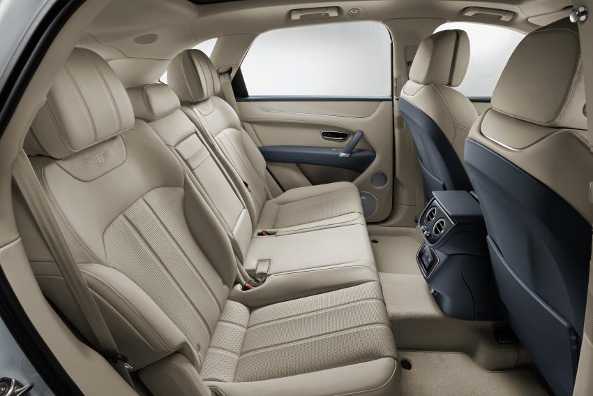 Bentley Bentayga Hybrid – new 3.0L V6, 50 km e-range Image #786356